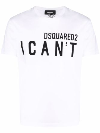 T-shirt I can't con stampa