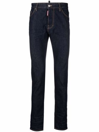 Jeans skinny con stampa