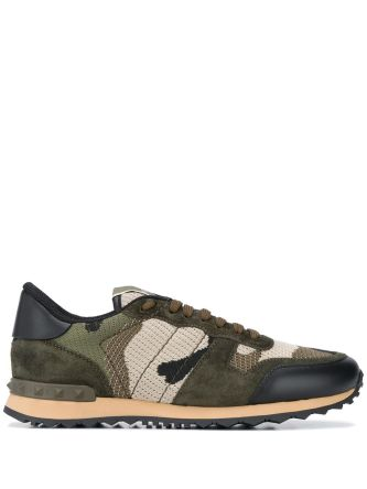 Sneakers con stampa camouflage Rockrunner
